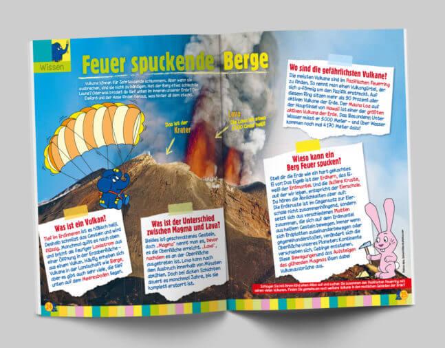 Das Magazin mit dem Elefanten